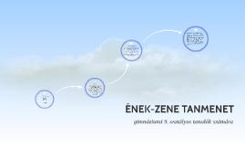 ÉNEK-ZENE TANMENET