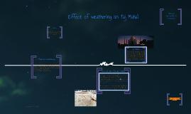 Effects of Weathering on Taj Mahal
