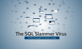 Copy of The SQL Slammer Virus