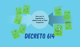 DECRETO 614