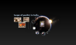 Scope of poultry in india