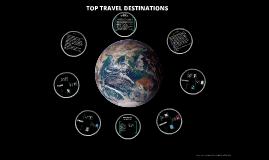 Copy of TOP TRAVEL DESTINATIONS