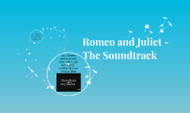 Romeo and Juliet - The Soundtrack