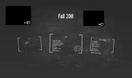Fall 2018