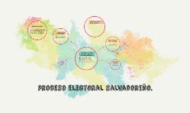 proceso electoral salvadoreño.