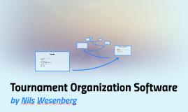 Tournament Organisation Software