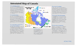 Copy of Annotated Map of Canada