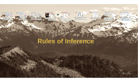(5.1,2 & 6.1,2) Deductive Arguments: Rules of Inference