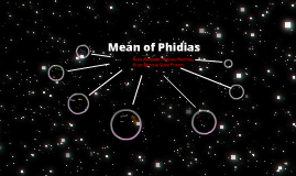 Mean of Phidias