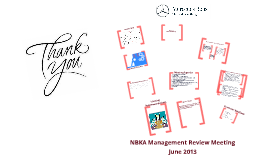 NBKA Management Review Meeting