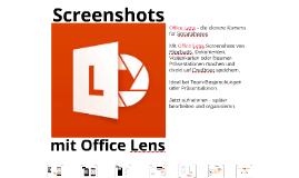 Office Lens #68: Die Kamera für O365
