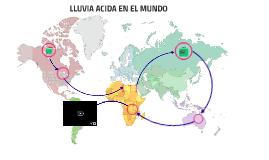 LLUVIA ACIDA EN EL MUNDO