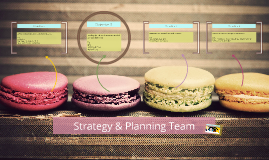 Strategy & Planning Team