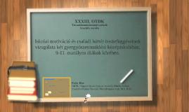 XIX. reál- és humántudományi Erdélyi Tudományos Diákköri Kon