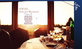 Copy of HTM3112 Restaurant Management