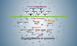 Organigramme du BCP17