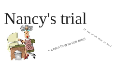 Nancy's trial