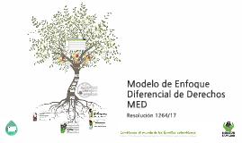 Modelo de Enfoque Diferencial de Derechos.