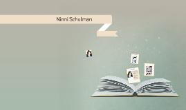 Ninni Schulman
