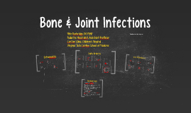 Bone Joint Infections