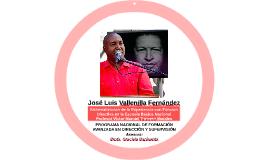 José Luis Vallenilla Fernández - Sistematización de la Experiencia