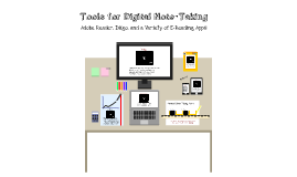 Tools for Digital Note-Taking