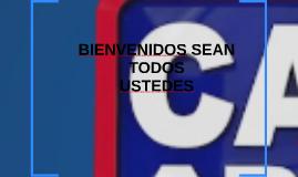 BIENVENIDOS SEAN TODOS