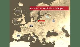 Ascenso de los totalitarismos europeos
