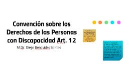 Convención sobre los Derechos de las Personas con Discapacid