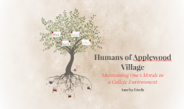 Humans of Applewood Village