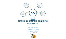 Copy of MANEJO DE BASURAS - CONJUNTO RESIDENCIAL