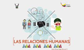 Copy of LAS RELACIONES HUMANAS