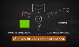 Copy of FÁBRICA DE CERVEZA ARTESANAL