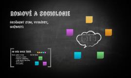 Romové a sociologie