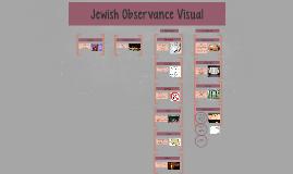 Jewish Observance Visual