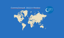 CommsConsult: 2013 in Review