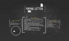 Copy of HOW TO WRITE A FORMAL LETTER