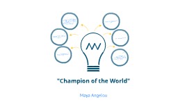 champion associated with this earth maya angelou summary