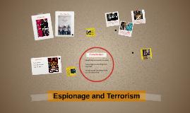 Espionage and Terroism