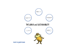 Lorax and Sustainable Part B