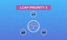 LCAP PRIORITY 3