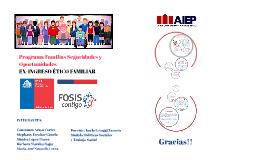 Copy of Copy of PROGRAMA FAMILIA SEGURIDADES I OPORTUNIDADES