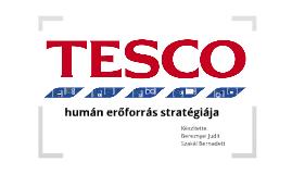 A Tesco humán erőforrás stratégiája
