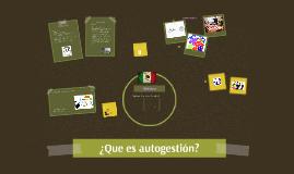 ¿Qué es Autogestión Educativa?