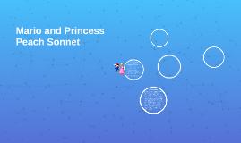Mario and Princess Peach Sonnet