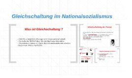 Copy of Gleichschaltung im Nationalsozialismus