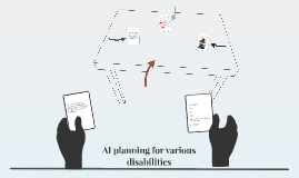 AI planning for various disabilities