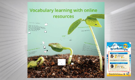 Vocabulary learning with online resources