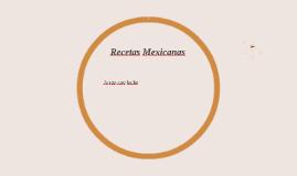 Copy of Recetas Mexicanas