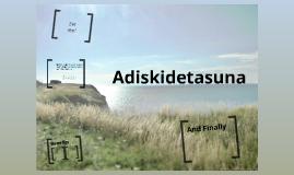 Adiskidetasuna